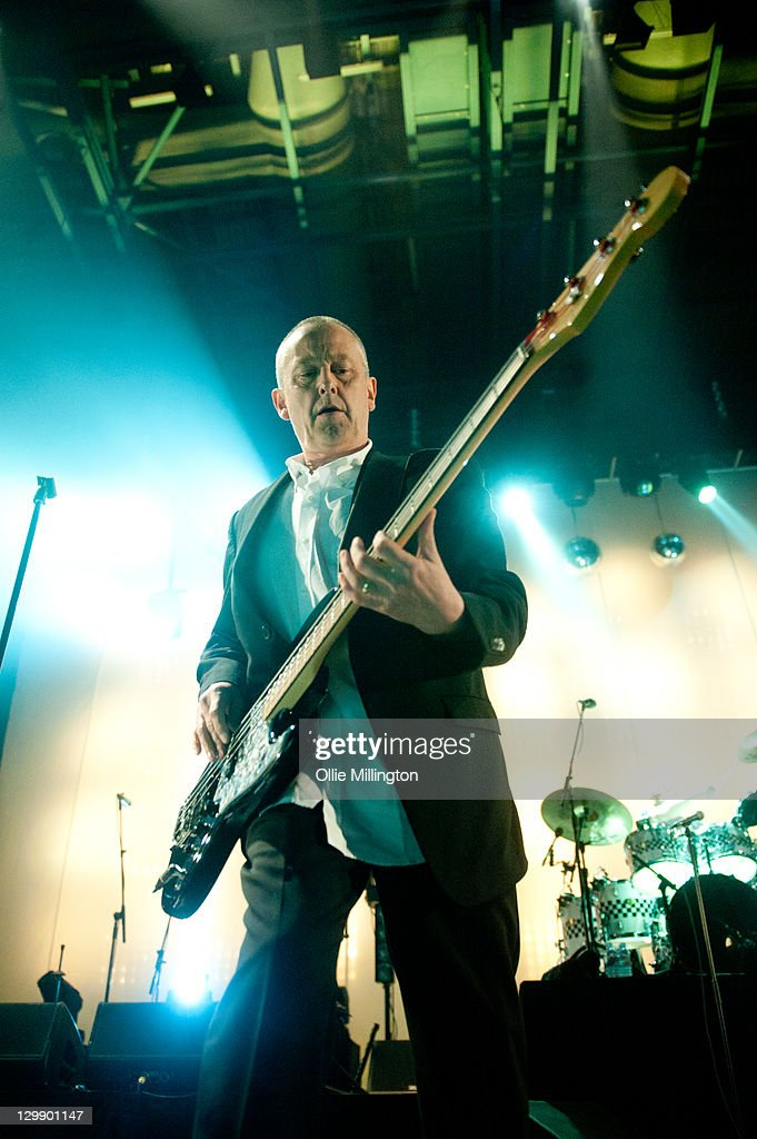 Horace Panter of The Specials performs onstage at Nottingham Capital FM Arena on October 21, 2011 in Nottingham, United Kingdom.