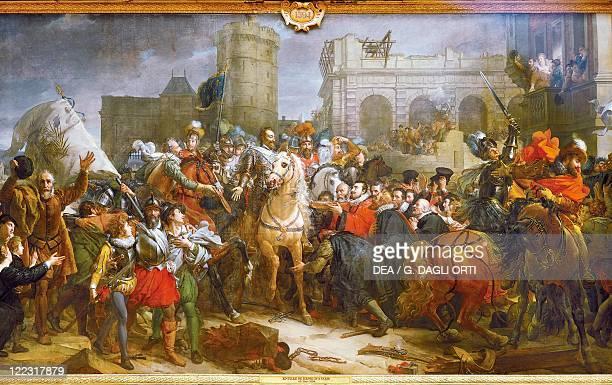 Horace Vernet , Henry IV Entering Paris, 22th March 1594.