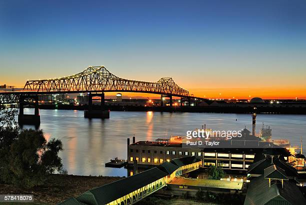 Horace Wilkinson Bridge Over Mississippi River
