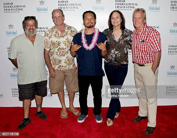 Horacio De Seixas John Peterson Takuji Masuda Linny Morris and Brian Kennelly attend the Hawaii International Film Festival 2016 at the Dole Cannery...