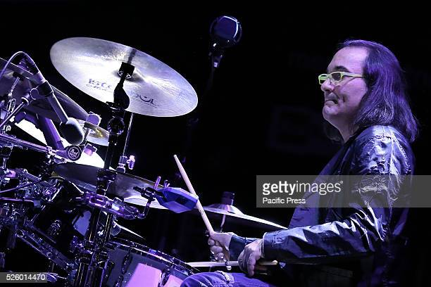 Horacio 'El Negro' Hernandez performs during Jazz Festival of Turin Gonzalo Rubacalba Armando Gola and Horacio 'El Negro' Hernandez three highly...
