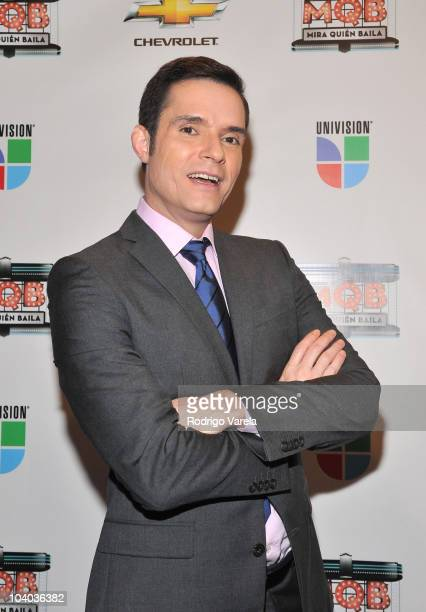 Horacio Villalobos attends 'Mira Quien Baila' premiere show on September 12, 2010 in Miami, Florida.