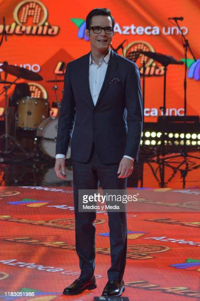 Horacio Villalobos poses for photos during 'La Academia 2019' Presentation at Azteca Novelas on October 23 2019 in Mexico City Mexico