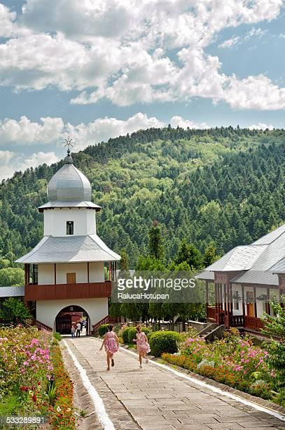 horaita monastery - moldavia fotografías e imágenes de stock