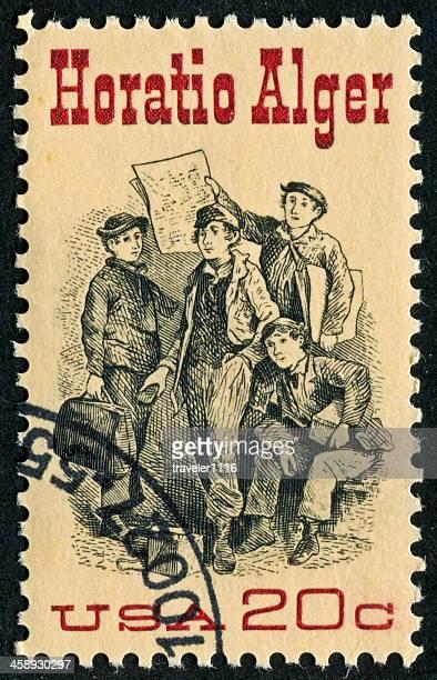 Horatio Alger Stamp