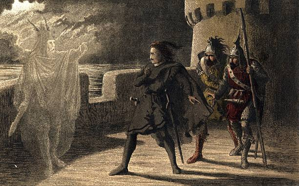 Horatio, Marcellus and Hamlet encounter the ghost of...