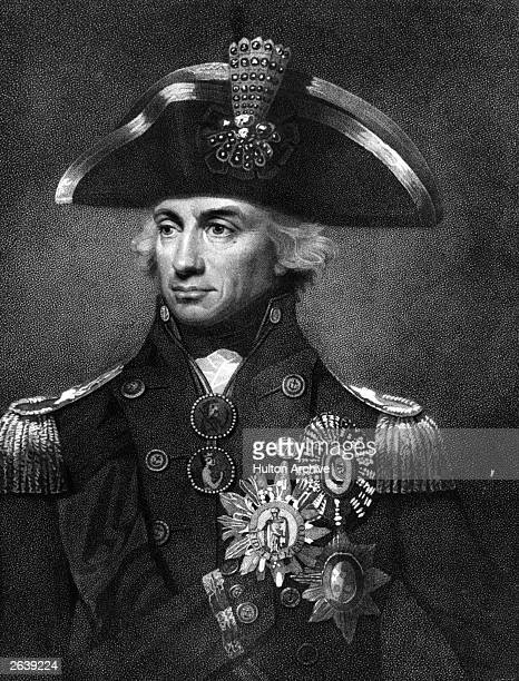 Horatio Nelson 1st Viscount British Admiral aged 43 when Vice Admiral after Abbott