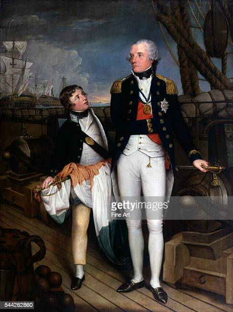 Horatio Nelson by Guy Head oil on canvas 17989 87 3/4 x 66 1/2 in National Portrait Gallery London