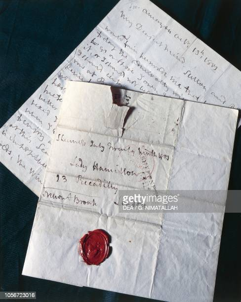 Horatio Nelson's letters to Lady Hamilton 19th century