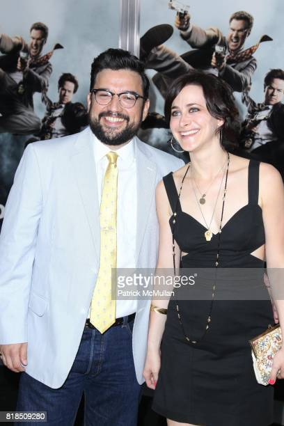 Horatio Sanz and Jenn Schatz attend COLUMBIA PICTURES Presents the World Premiere of THE OTHER GUYS at Ziegfeld Theatre on August 2 2010 in New York...