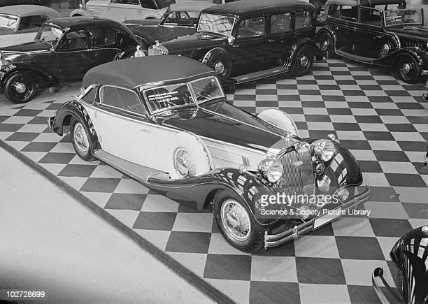 Horch / Auto Union 850 'Sport-Cabriolet' at Berlin Exhibition Photograph taken during Berlin Automobile Exhibition, 1935.