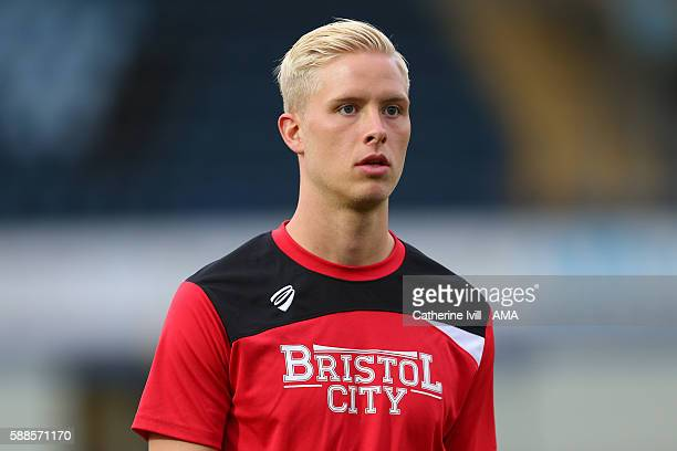 Hordur Magnusson of Bristol City during the EFL Cup match between Wycombe Wanderers and Bristol City at Adams Park on August 8 2016 in High Wycombe...