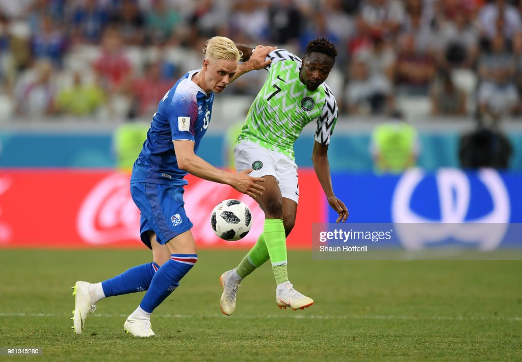 Nigeria v Iceland: Group D - 2018 FIFA World Cup Russia : News Photo