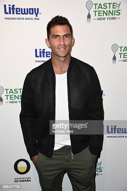 Horia Tecau attends Taste Of Tennis New York on August 25 2016 in New York City