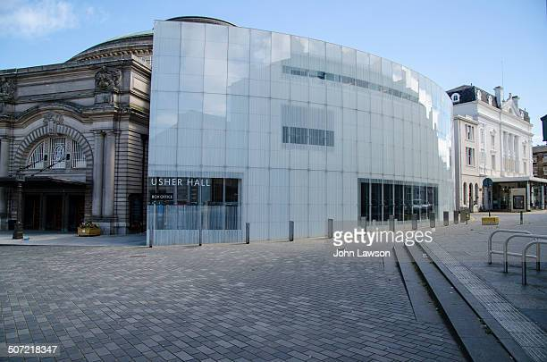 CONTENT] Horizontal image of The Usher Hall and Lyceum Theatre in Edinburgh's West End The Usher Hall is a concert hall opened in 1914 with a...