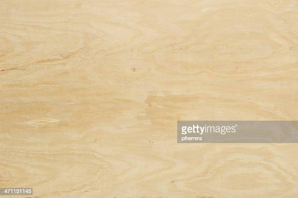 Horizontal Sheet of Natural Colored Plywood