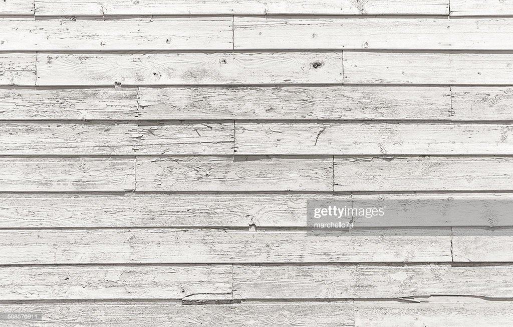 Horizontal wooden plank pattern : Stock Photo