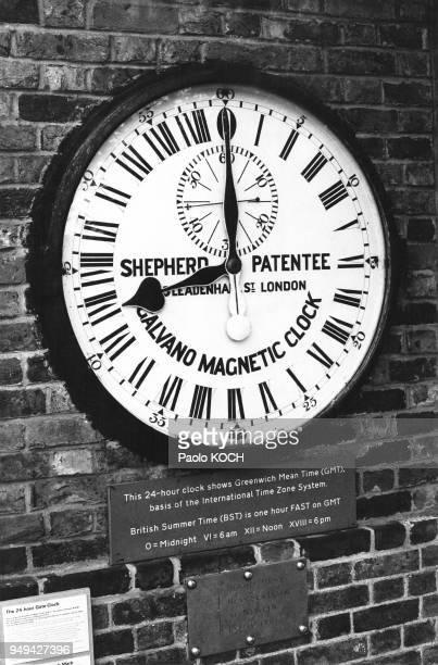 Horloge de l'Observatoire royal de Greenwich RoyaumeUni