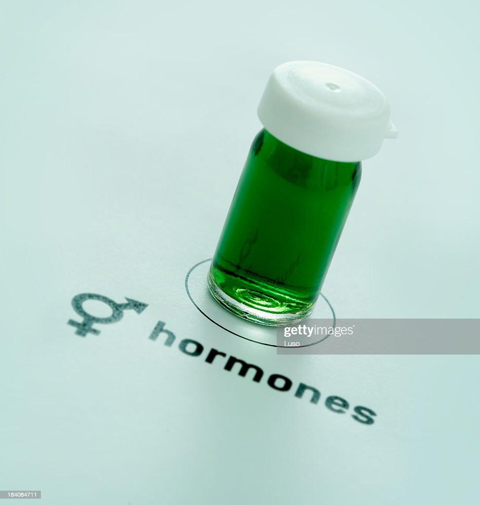 Hormones : Stock Photo