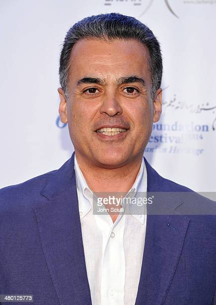 Hormoz Ameri attends the 6th Annual Farhang Foundation's Short Film Festival award ceremony and reception at LACMA on March 22 2014 in Los Angeles...