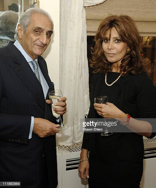 Hormoz Sabet and Hoda Esphahani during BlockGuest Group Celebrates Its New Private Jewelry Salon Located at Rockefeller Center Day 1 at BlockGuest...