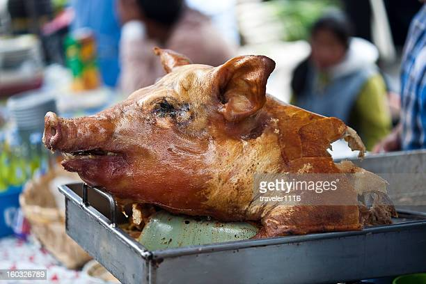 Hornado Or Roasted Whole Pig From Ecuador