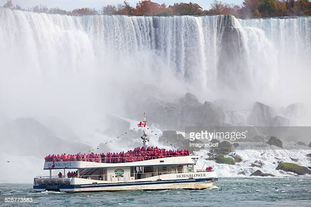 Hornblower Boat at Niagara Falls