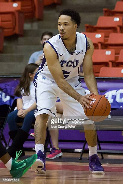 Horned Frogs guard Kyan Anderson during the NCAA basketball game between the Mississippi Valley State Delta Devils and the TCU Horned Frogs played at...