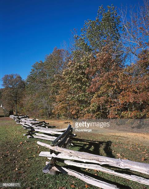 Hornet Nest location at Battle of Shiloh Tennessee