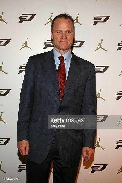 Hornets President Hugh Weber attends the Jordan Brand CP3II Shoe Launch at Republic Nightclub on March 5 2009 in New Orleans Louisiana