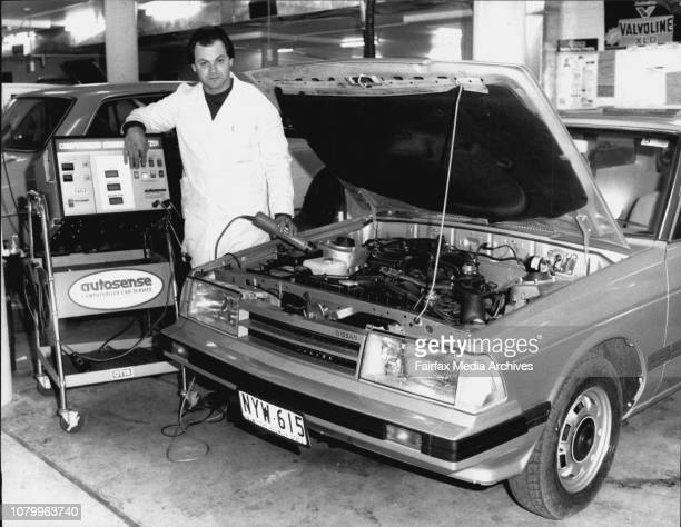Hornsby Nissan New Caryard Pacific highway WaitaraForeman Aldo ColussoService Department foreman Aldo Colusso hot only oversees the work being done...