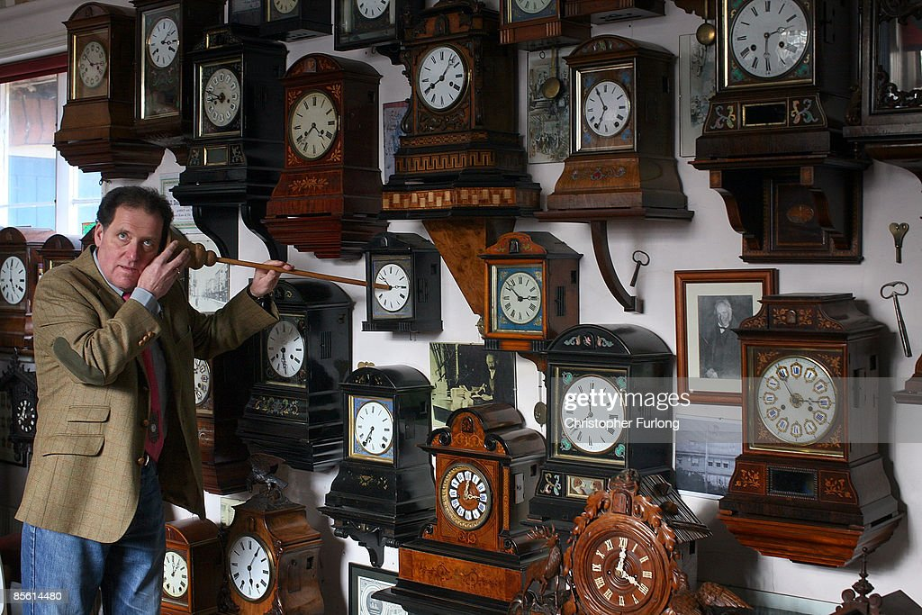 Cuckoo Clock Museum Prepares For Summer Time Change : News Photo