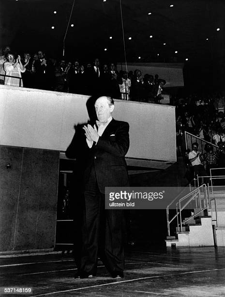 Horowitz, Vladimir , Pianist, USA , - in der Berliner Philharmonie , - 1986 , Foto: Erika Rabau