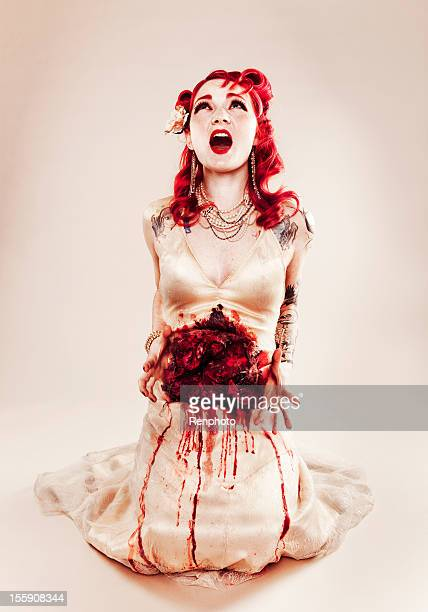 horror fashion series - human intestine stock photos and pictures