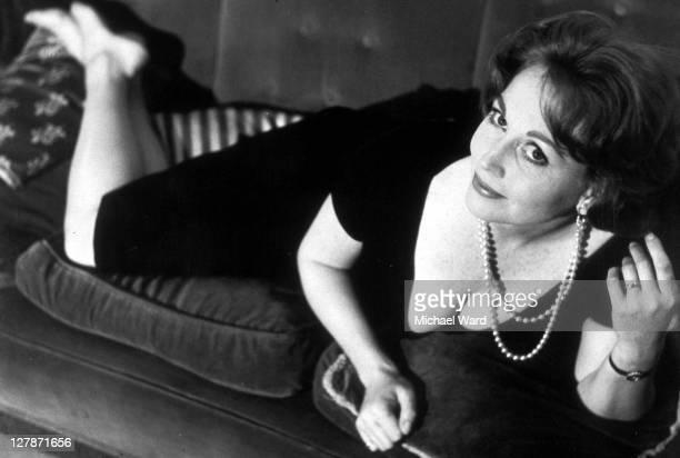 Horror film actress Hazel Court 1964