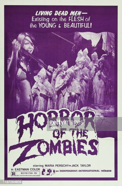 Horror Of The Zombies poster US poster art left Maria Perschy 1974