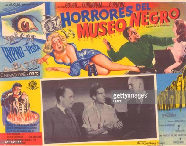 Horrors Of The Black Museum poster top from left Dorinda Stevens Graham Curnow Shirley Anne Field bottom from left Geoffrey Keen Howard Greene Austin...