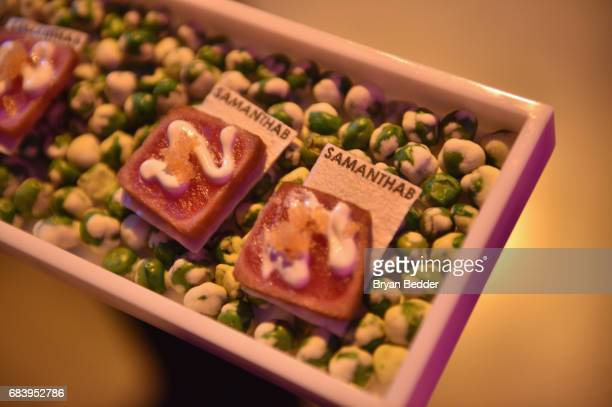 Hors d'oeuvres during the Full Frontal With Samantha Bee FYC Event at New World Stages on May 16 2017 in New York City 27026_001