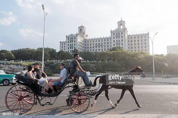Horse and carriage, Havana, Cuba