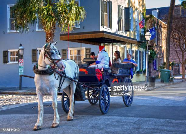 Horse and Carriage Tour, Church Street, Charleston, South Carolina