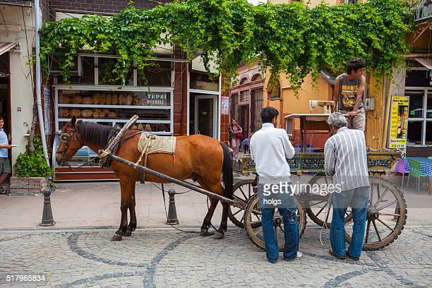 Horse and Cart Ayvalik, Turkey