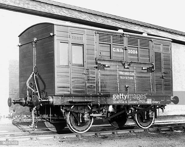 Horse box No 3004 Great Northern Railway c 1914