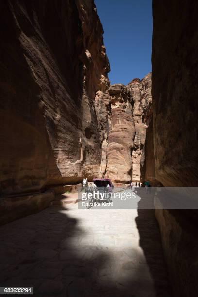 A Horse Carriage at the Siq in Petra, Jordan