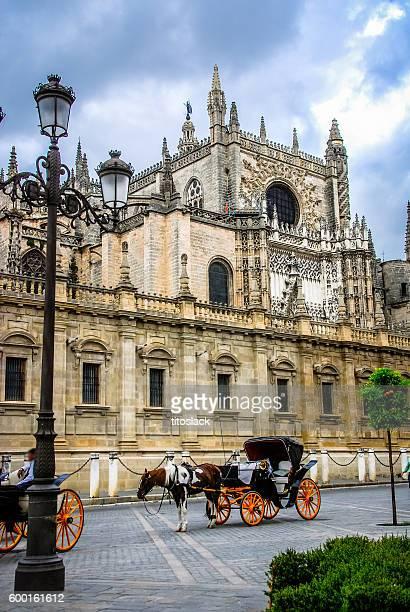 Calèche à Séville, Espagne
