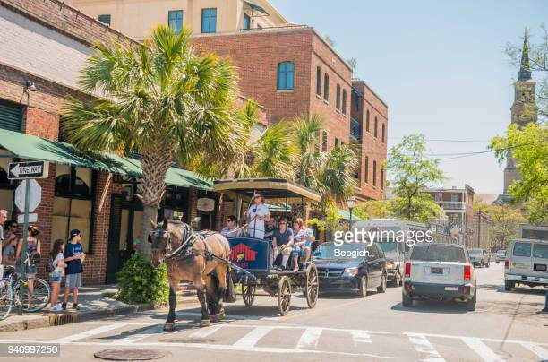 Horse & Carriage Tour in Historic Charleston South Carolina USA