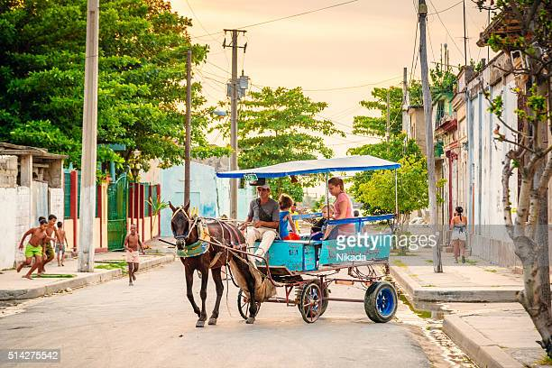 Horse Cart Taxi, Cuban public transport