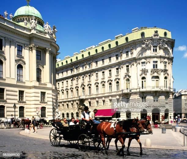 Horse Drawn Carriage in Michaeler Platz