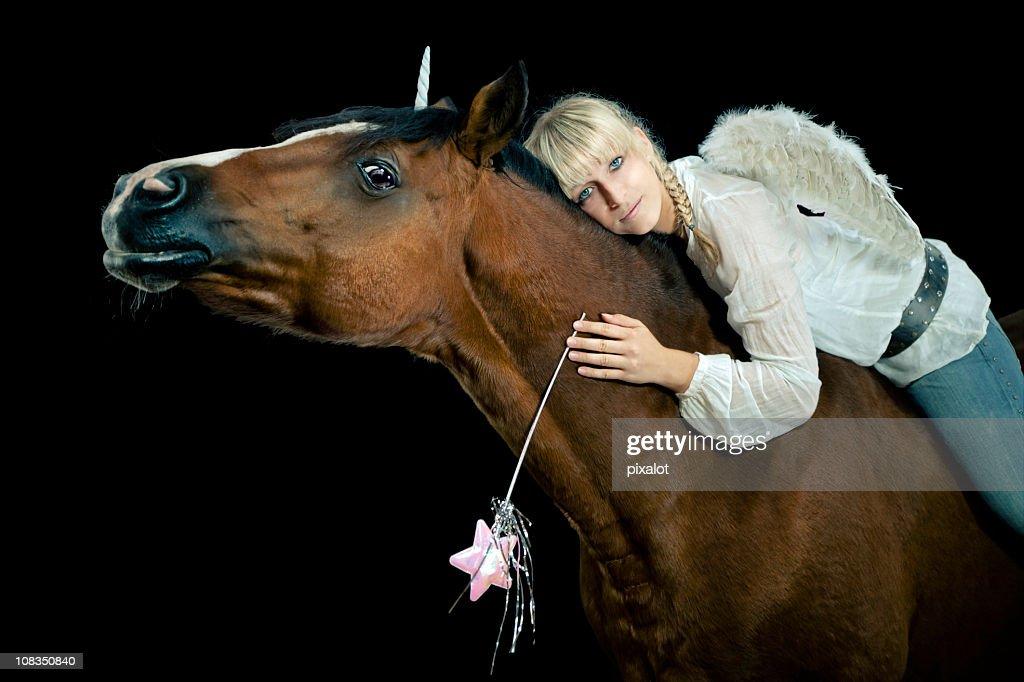 Horse Fairy : Stock Photo