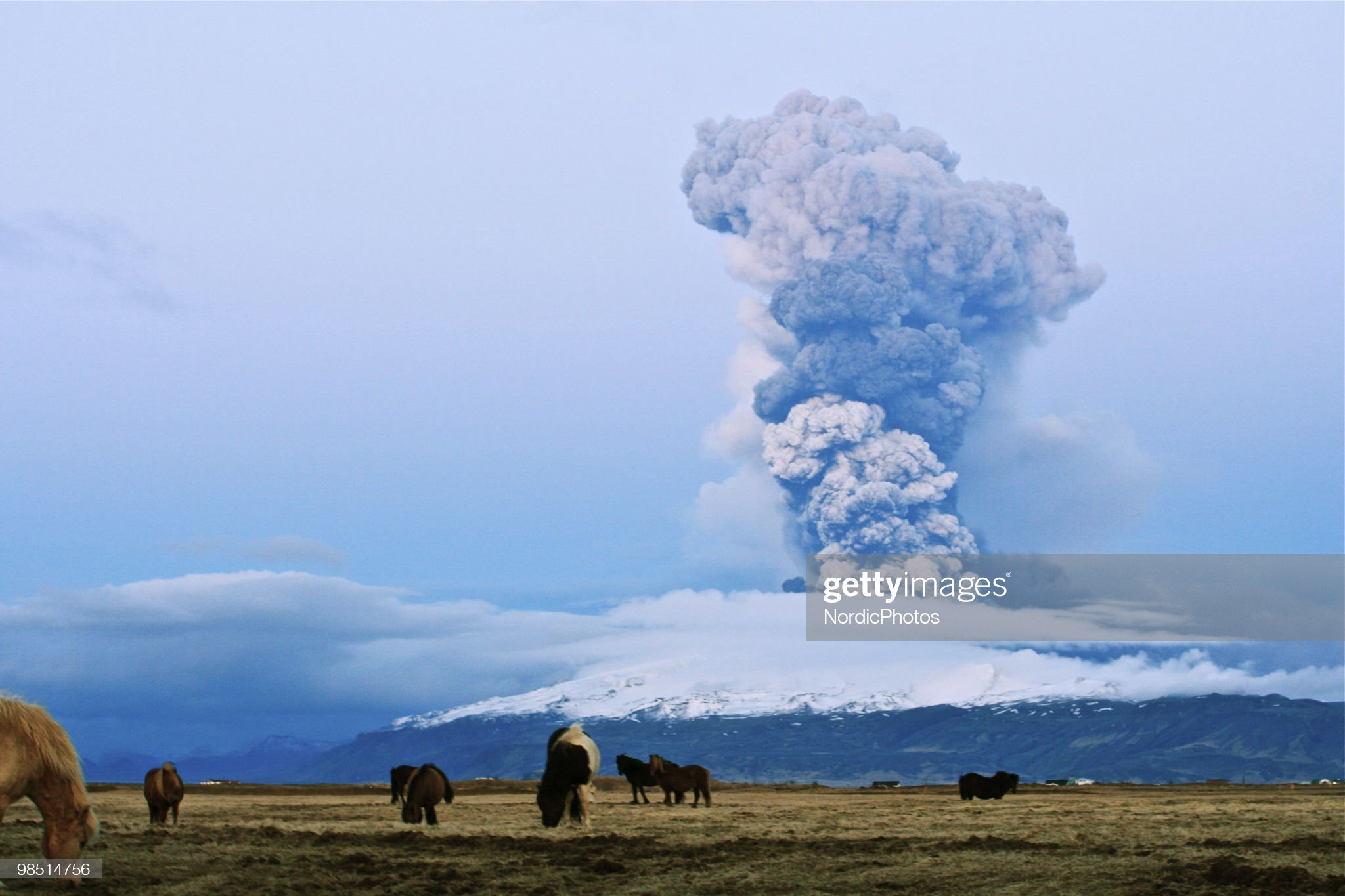 Volcano Erupts In Iceland : News Photo