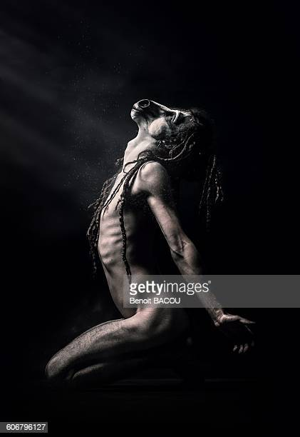 Horse headed man